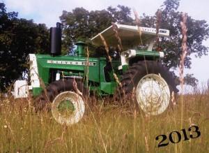 Winter 2013 Rebuilt Oliver Tractor